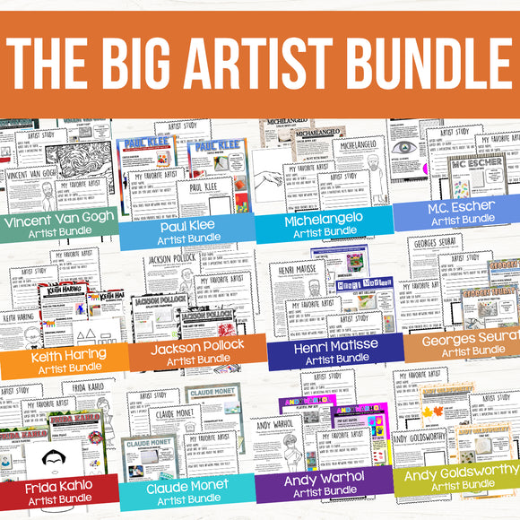 The Complete Artist Bundle