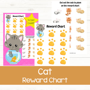 Cat Reward Chart