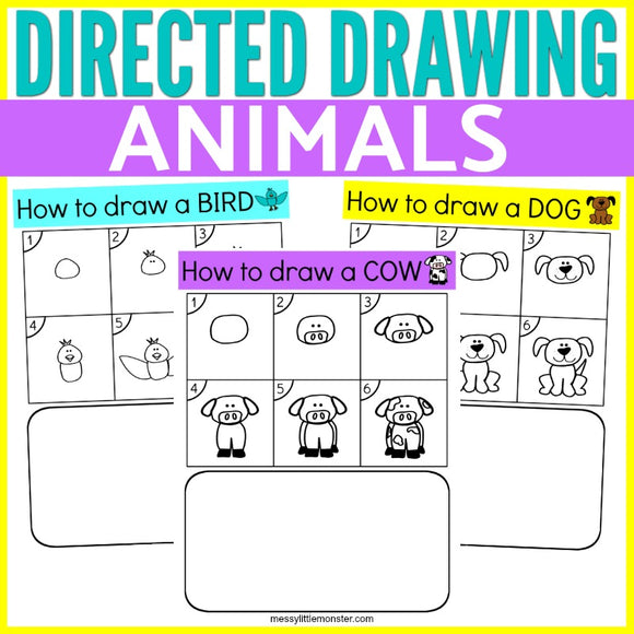 Directed Drawing Animals
