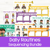 Sequencing Activities: Daily Routines