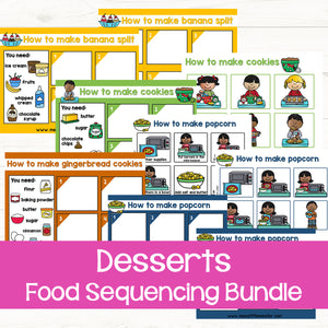 Sequencing Activities: Desserts