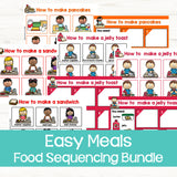 Sequencing Activities: Food Bundle