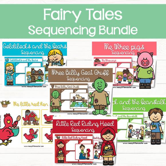 Fairy Tale Sequencing Activities