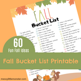 Seasonal Bucket Lists