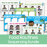 Sequencing Activities: Food Routines