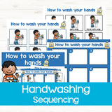 How to Wash Your Hands Sequencing