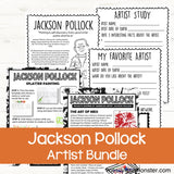 Famous artists for kids - Jackson Pollock
