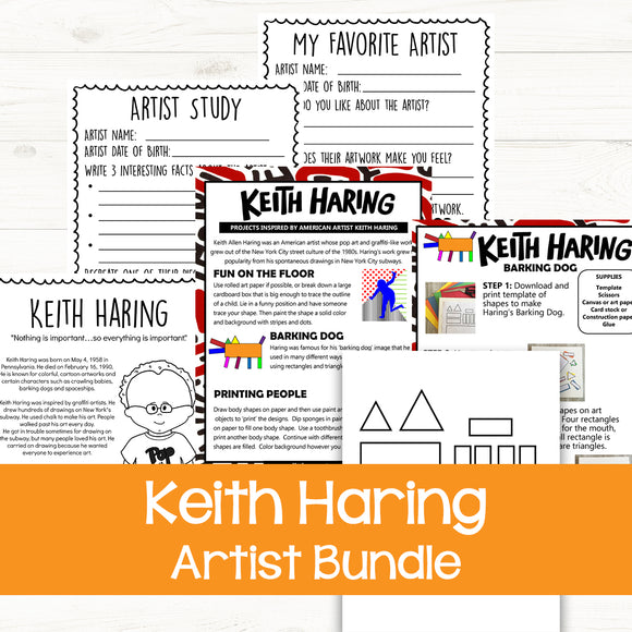 Keith Haring Artist Bundle