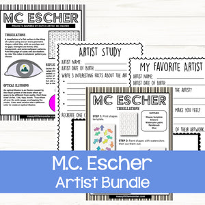 M.C. Escher art for kids