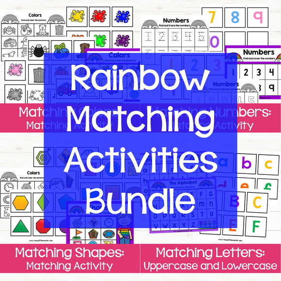 Rainbow Matching Games