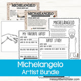 Famous artists for kids - Michelangelo
