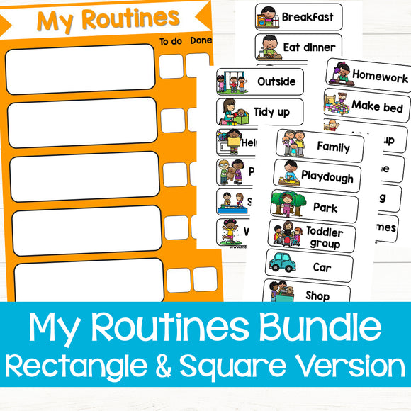My Routines - Create Your Own Schedule