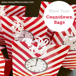 New Year Countdown Bags