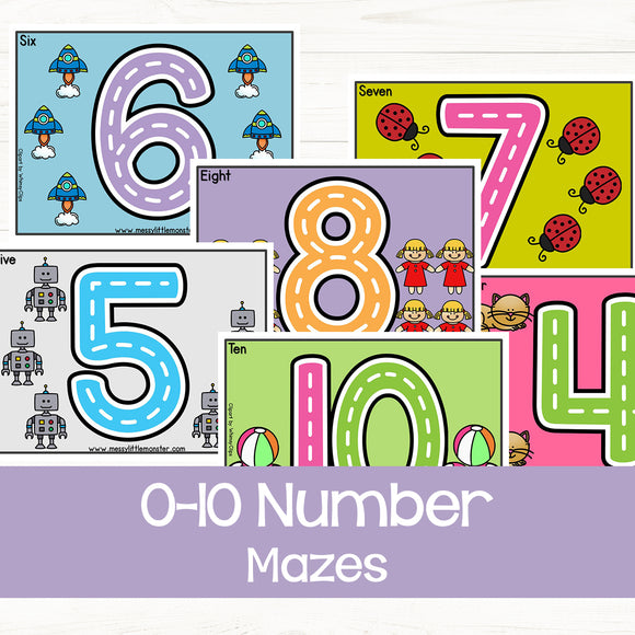 Number Mazes