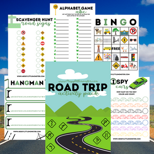 Road Trip Activity Pack