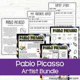 Famous artists for kids - Pablo Picasso