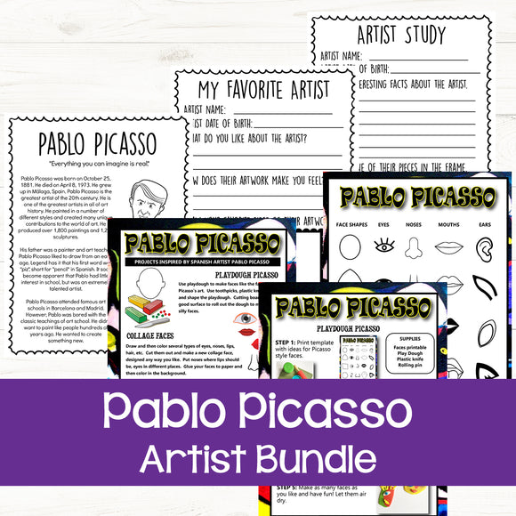 Pablo Picasso Art for Kids