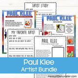 Famous artists for kids - Paul Klee