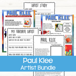 Paul Klee art for kids