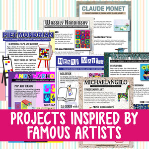 Projects Inspired by Famous Artists