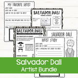 Famous artists for kids - Salvador Dali