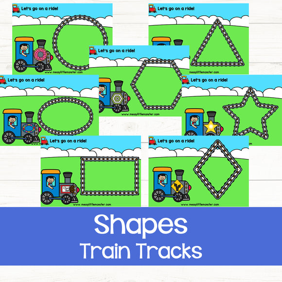 Shape Train Tracks