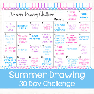 Summer Drawing Challenge