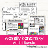 Famous artists for kids - Wassily Kandinsky