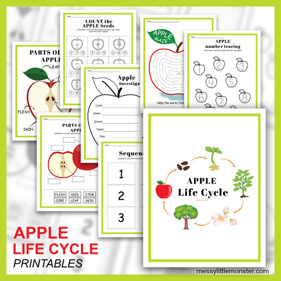 Apple Activity Printables
