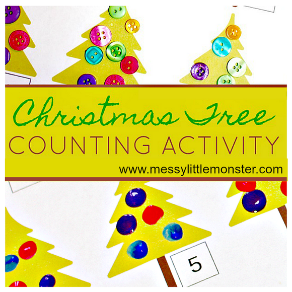 Christmas Tree Counting Activity