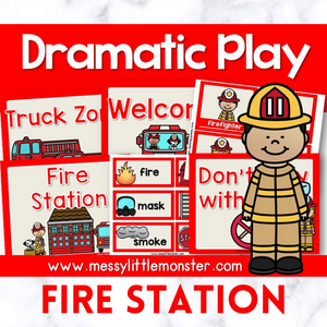 Firefighter Dramatic Play Printables