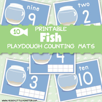 Fish Bowl Counting Mats