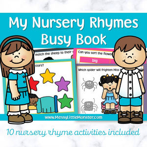 Nursery Rhyme Busy Book