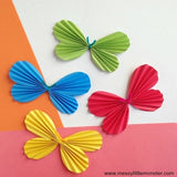 Butterfly Paper Craft Template