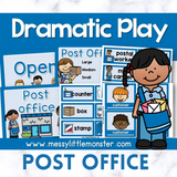 Post Office Dramatic Play Printables