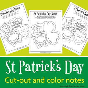 St. Patrick's Day Coloring Notes