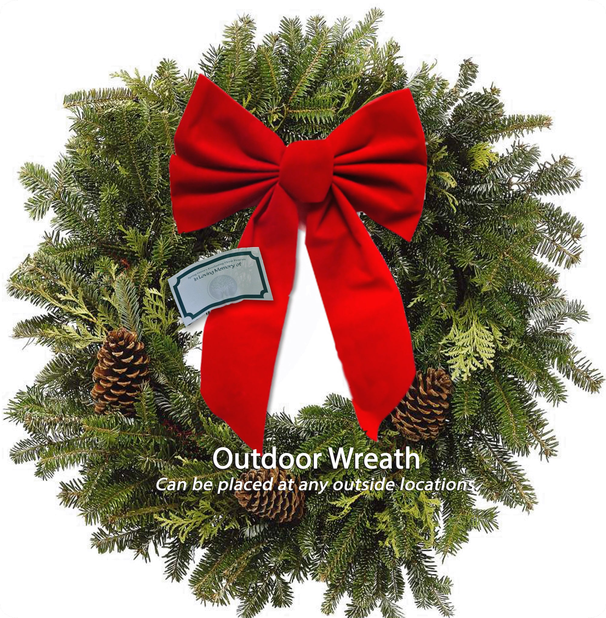 Outdoor Holiday Wreath