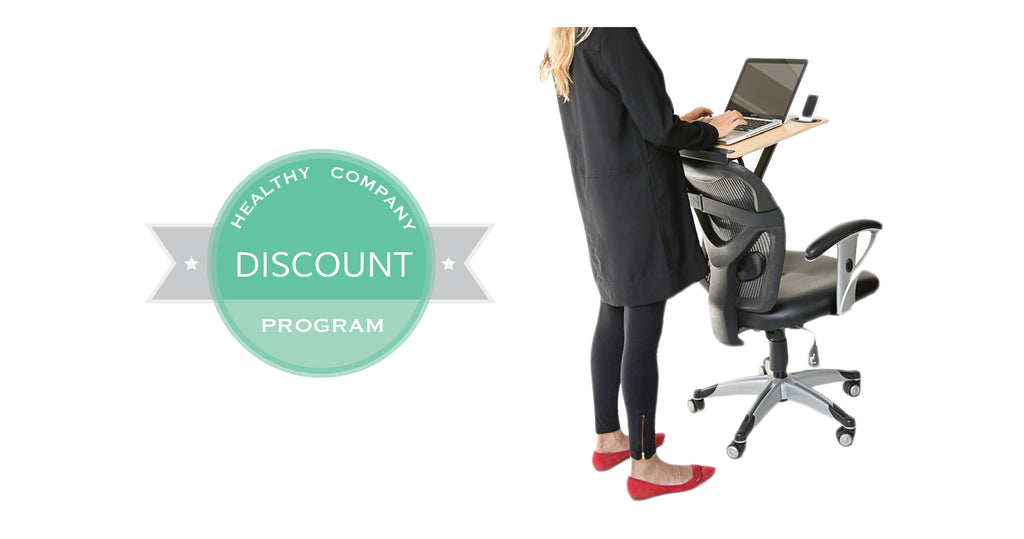 StorkStand Standing Desks_Healthy Company Discount Program