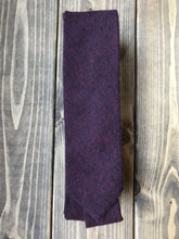 Load image into Gallery viewer, Berry Cotton Tie
