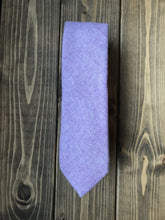 Load image into Gallery viewer, Lilac Wool Tie