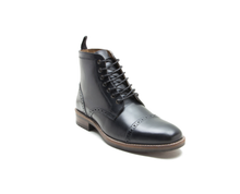 Load image into Gallery viewer, Benham Black Oxford Boot