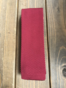 Cherry Knitted Tie