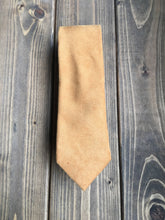 Load image into Gallery viewer, Mustard Cotton Tie
