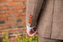 Load image into Gallery viewer, Burford Brown Wool Blazer