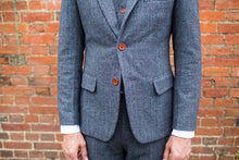 Load image into Gallery viewer, Harrogate Grey Wool Blazer