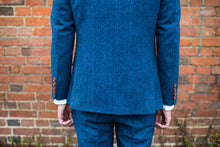 Load image into Gallery viewer, Southwold Blue Wool Blazer