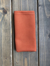 Load image into Gallery viewer, Orange Knitted Pocket Square