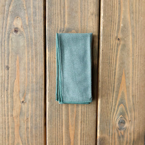 Olive Cotton Pocket Square