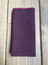 Load image into Gallery viewer, Berry Cotton Pocket Square