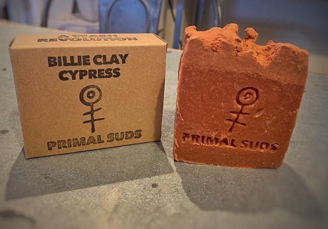 Billie Clay Cypress Soap